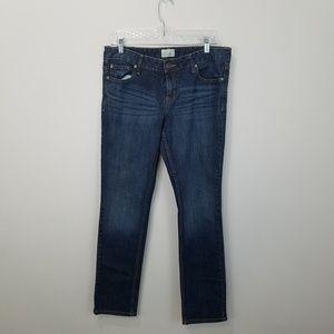 Bayla skinny jean. Dark wash. Size 11/12